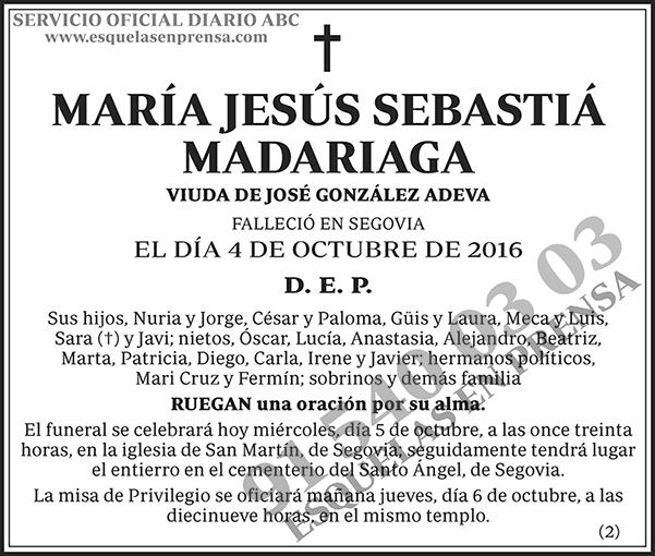 María Jesús Sebastiá Madariaga